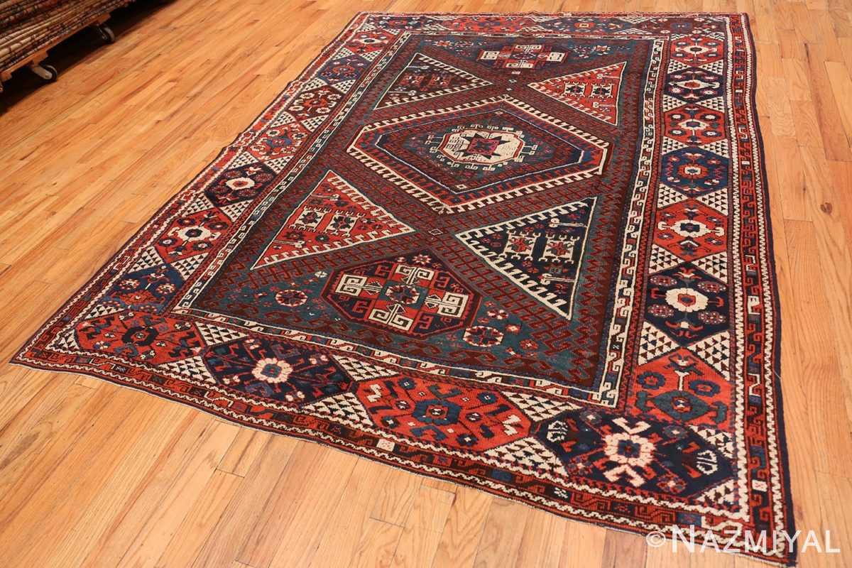 Full Colletible Antique Turkish Bergama rug 48884 by Nazmiyal