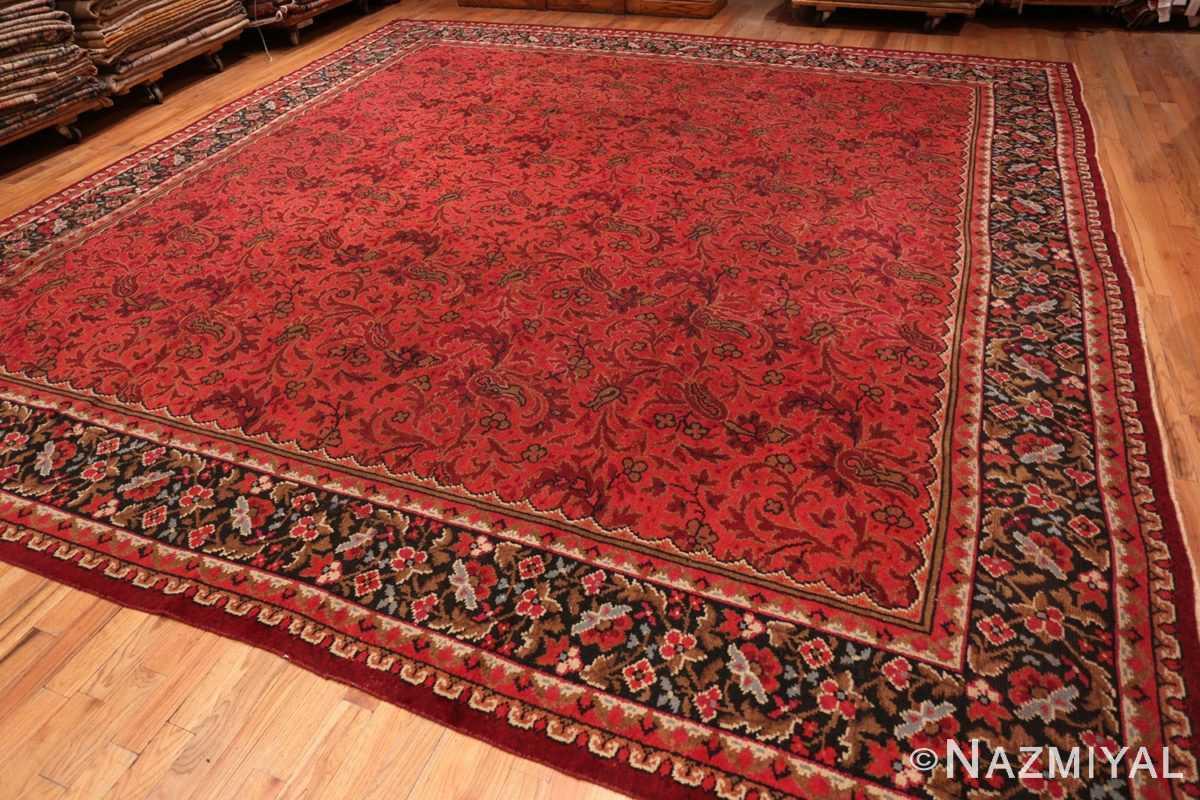 Full large square size Antique Irish Donegal rug 50452 by Nazmiyal