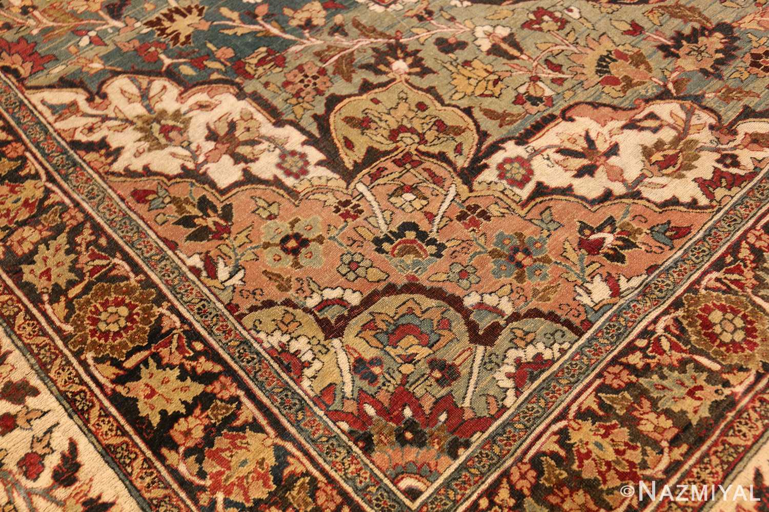 large finely woven antique persian tabriz rug 50652 design Nazmiyal