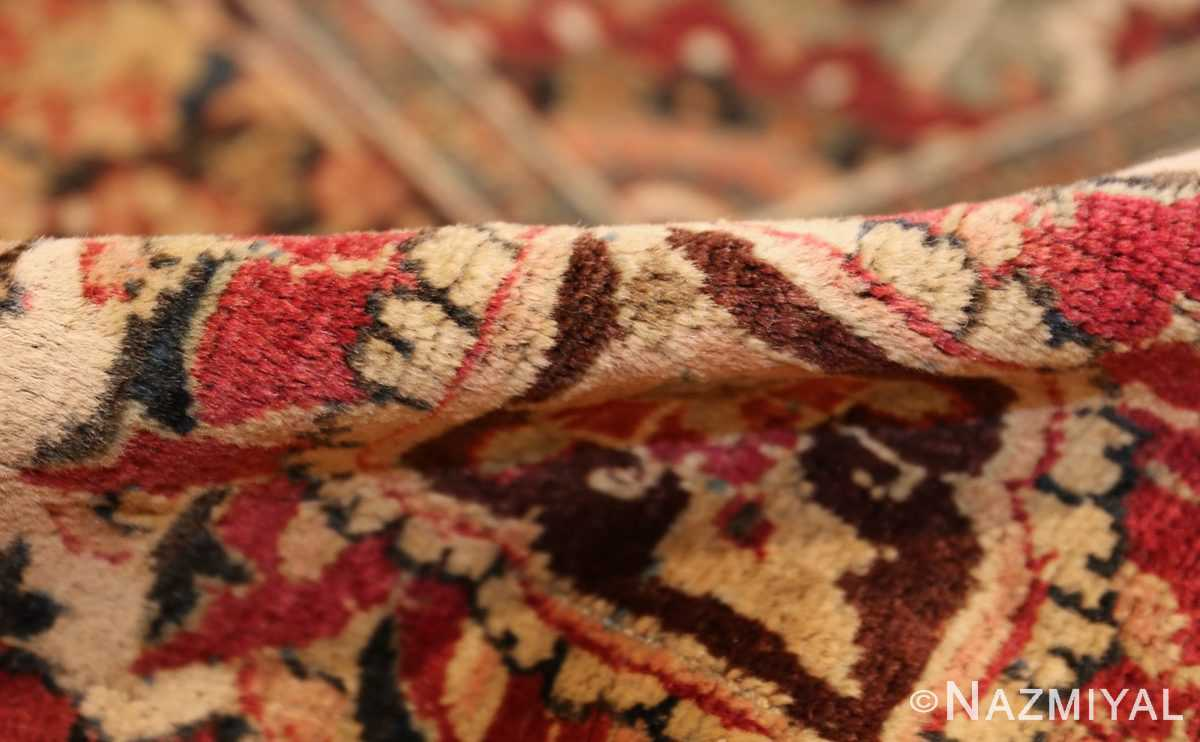 large finely woven antique persian tabriz rug 50652 pile Nazmiyal