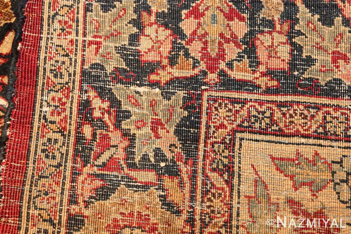 large finely woven antique persian tabriz rug 50652 weave Nazmiyal