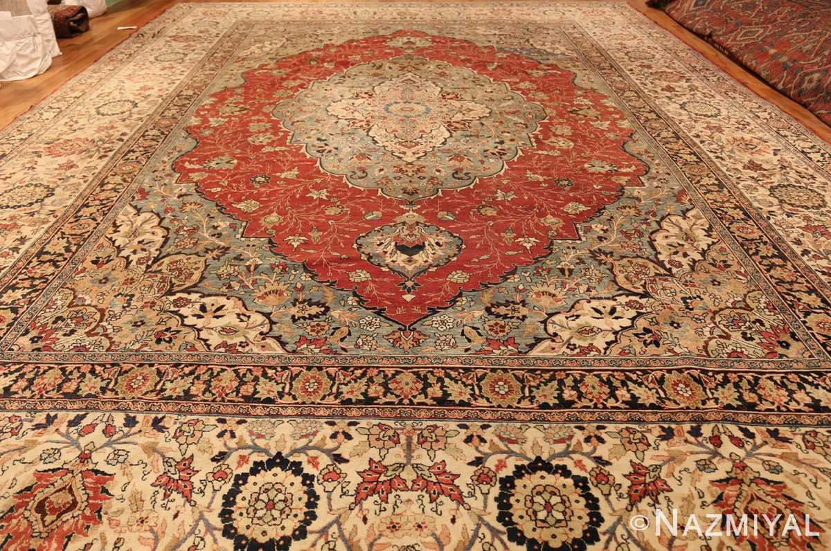 large finely woven antique persian tabriz rug 50652 whole Nazmiyal
