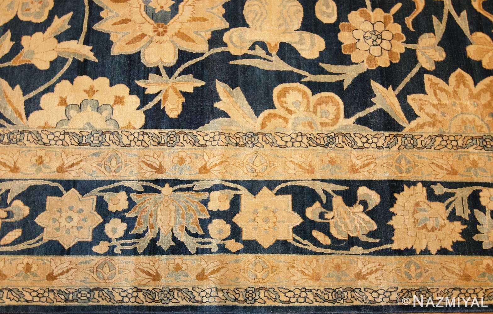 large oversized antique kerman persian rug 48690 border Nazmiyal