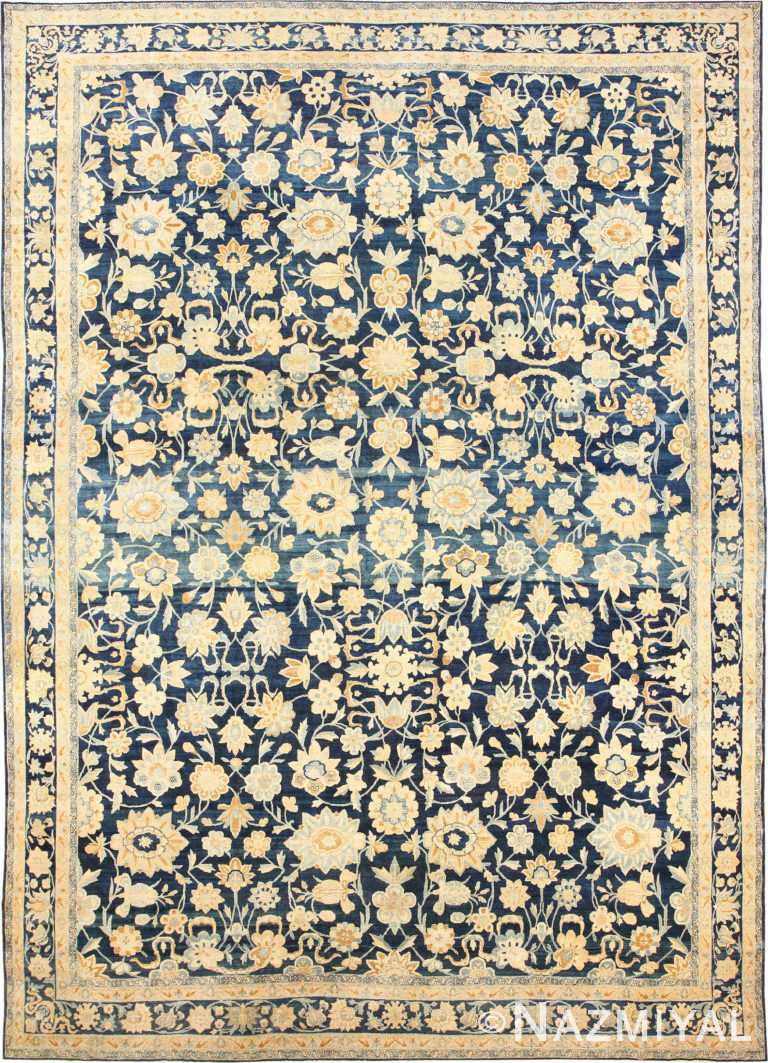 Large Oversized Antique Kerman Persian Rug 48690 Nazmiyal