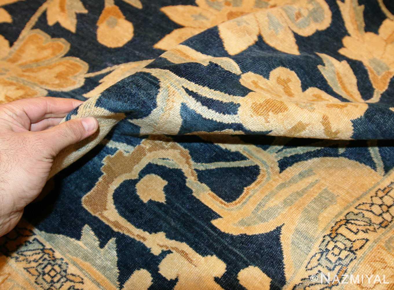 large oversized antique kerman persian rug 48690 pile Nazmiyal
