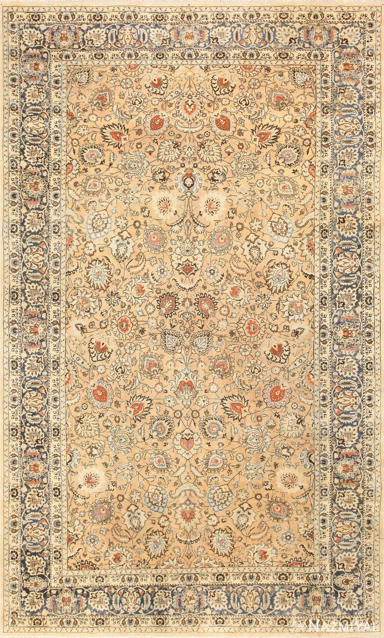 Large Room Size Antique Persian Khorassan Rug 48779 Nazmiyal