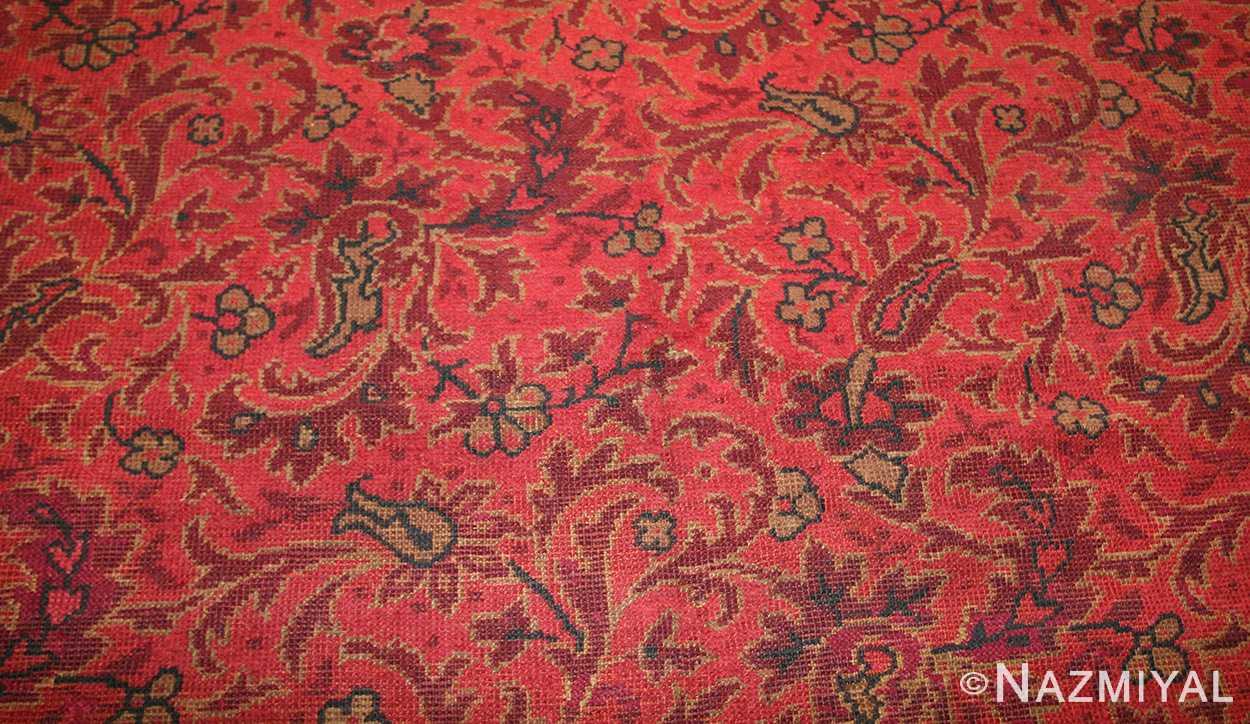 large square size antique irish donegal rug 50452 field Nazmiyal