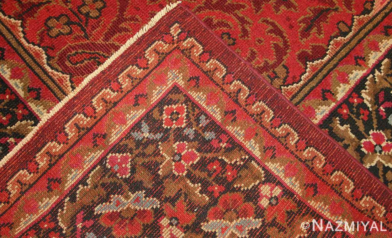 large square size antique irish donegal rug 50452 weave Nazmiyal