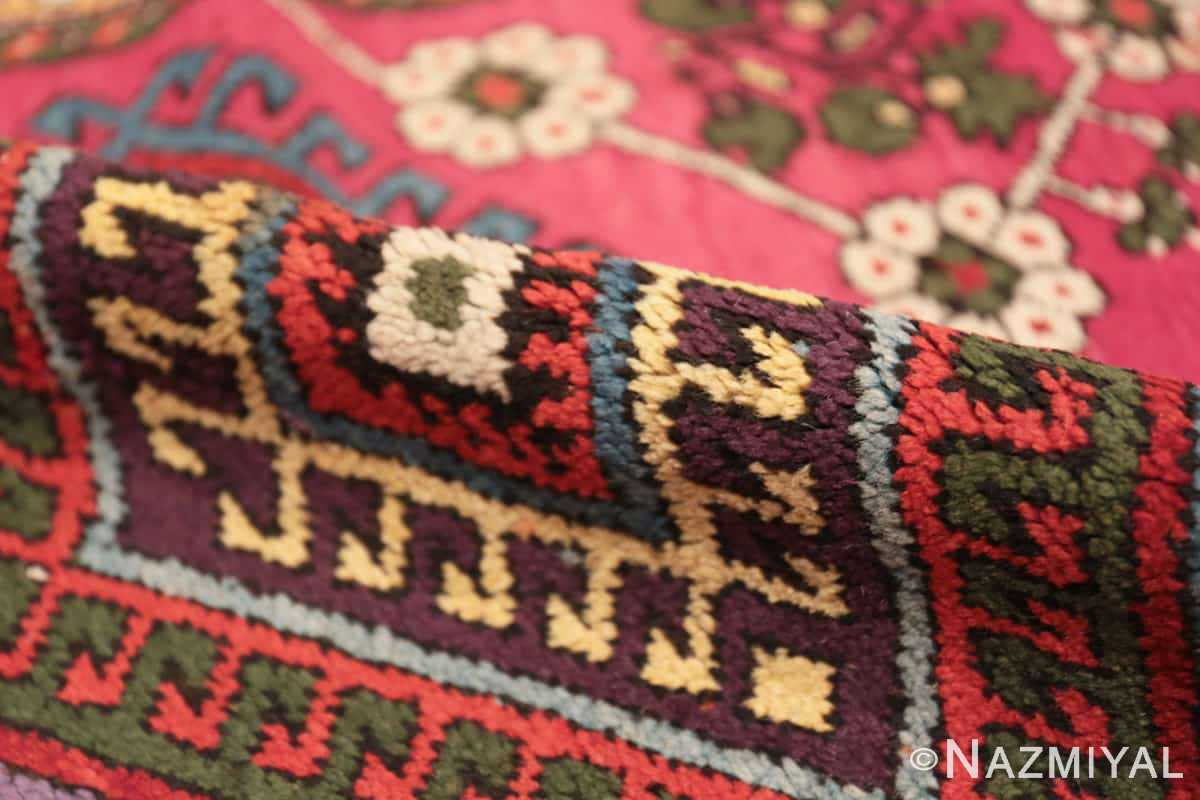Pile Tribal Antique Turkish Kisheshir runner rug 48883 by Nazmiyal
