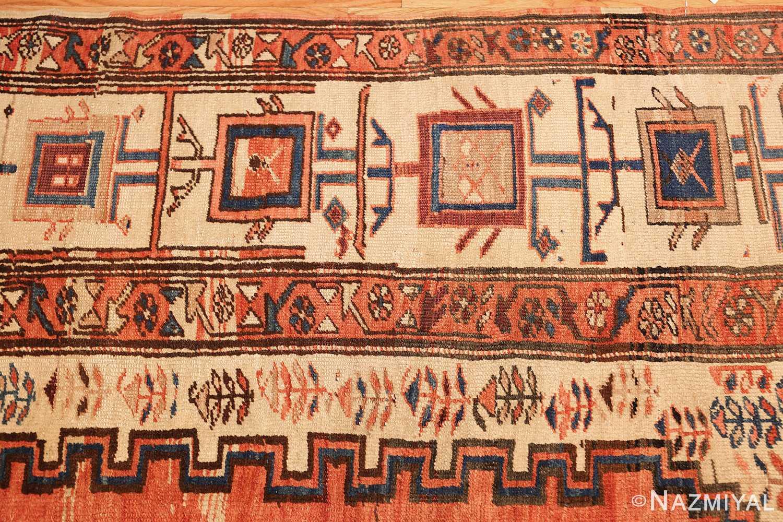 room size antique medallion persian serapi bakshaish rug 48859 border Nazmiyal