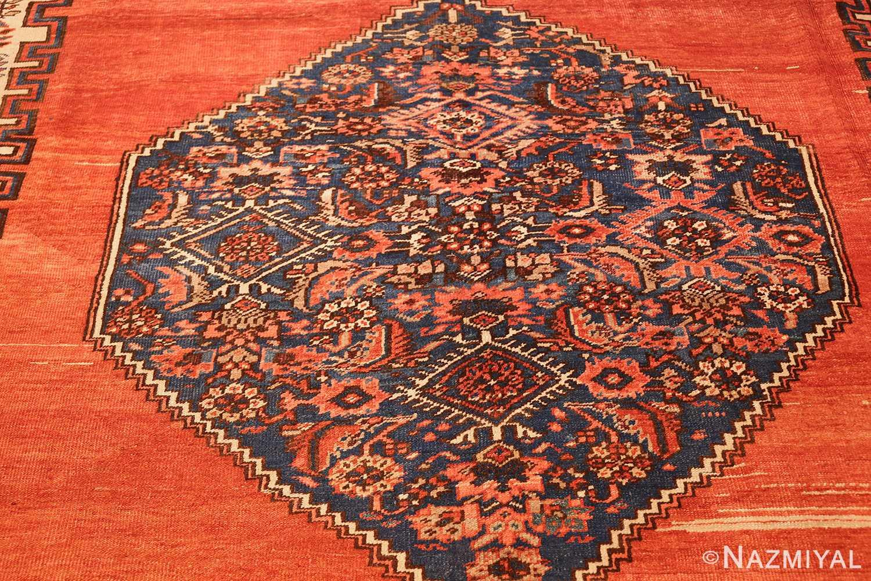 room size antique medallion persian serapi bakshaish rug 48859 medallion Nazmiyal