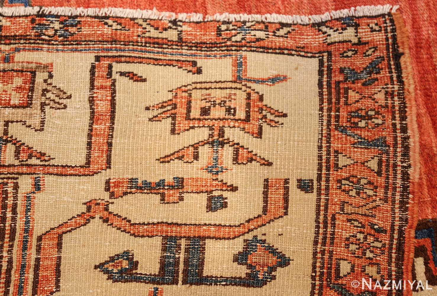 room size antique medallion persian serapi bakshaish rug 48859 weave Nazmiyal