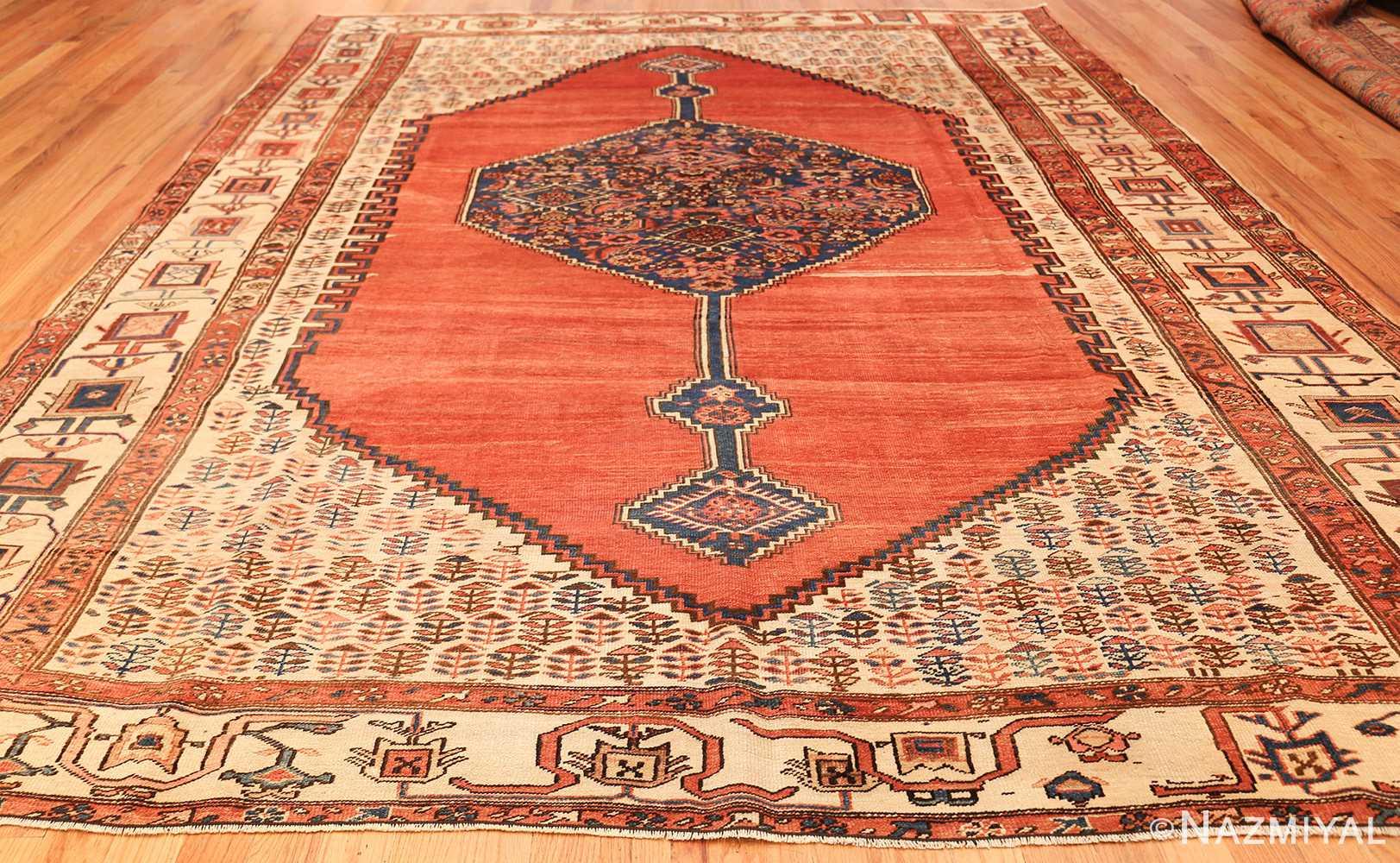 room size antique medallion persian serapi bakshaish rug 48859 whole Nazmiyal