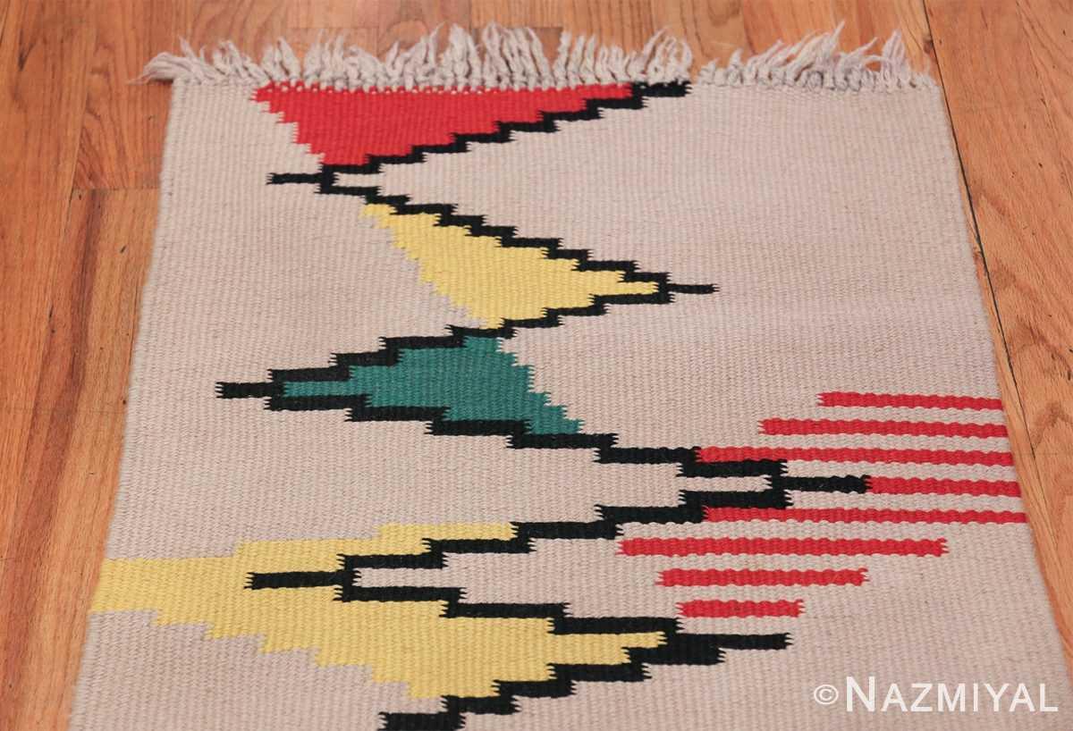 Small Antonin Kybal Vintage Kilim French Rug 48894 Top Design Nazmiyal