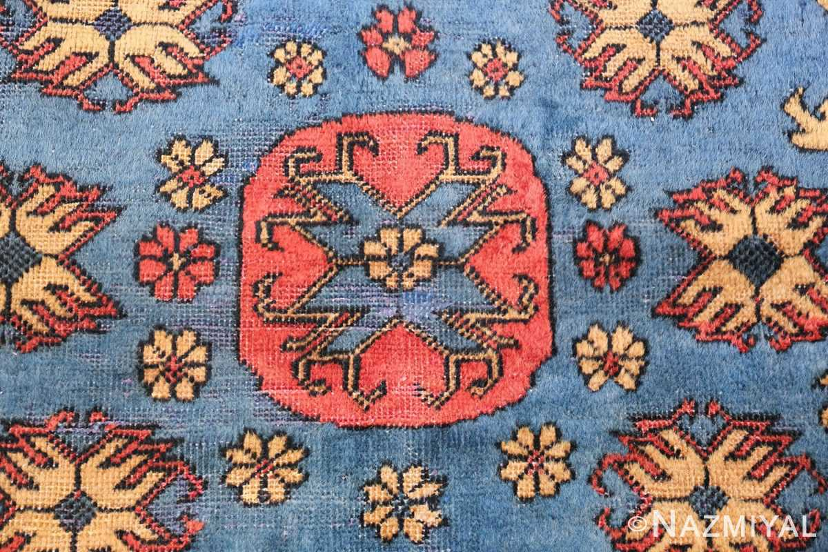 Small Room Size Funky and Tribal Antique Khotan Rug 48784 Inner Design Nazmiyal