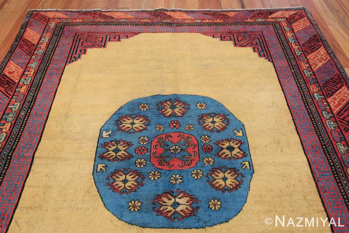 Small Room Size Funky and Tribal Antique Khotan Rug 48784 Top Design Nazmiyal