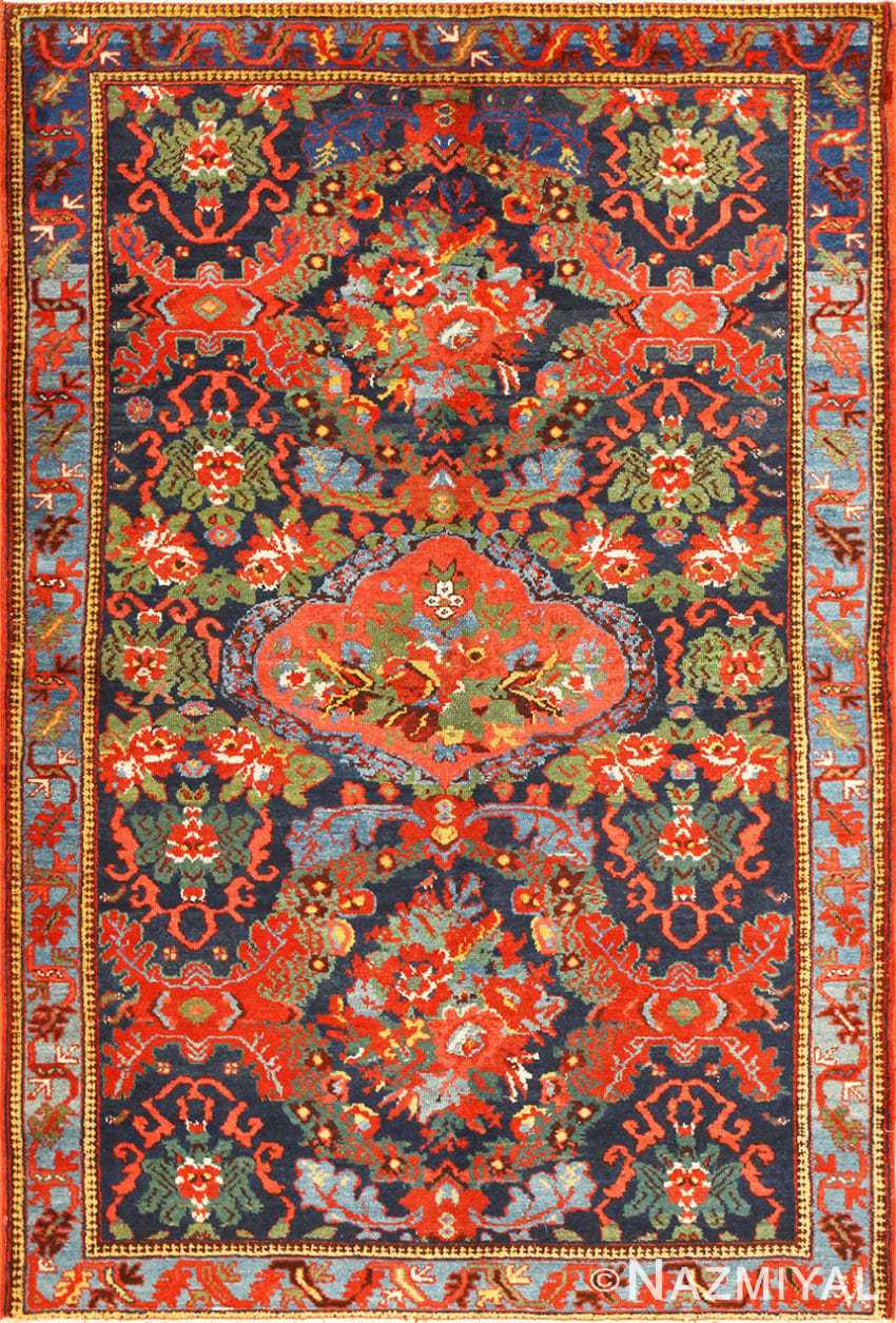 Small Size Antique Persian Malayer Rug 48932 Nazmiyal