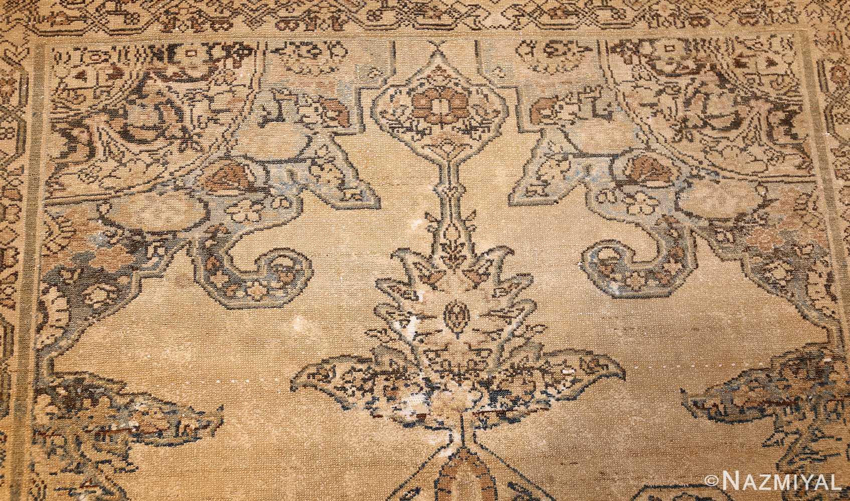 small tribal antique shabby chic persian malayer rug 50634 design Nazmiyal