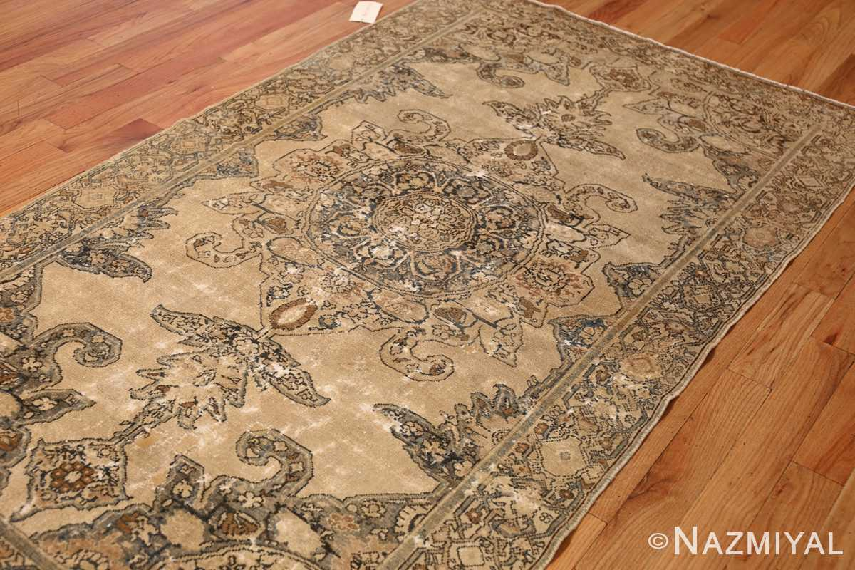 small tribal antique shabby chic persian malayer rug 50634 side Nazmiyal