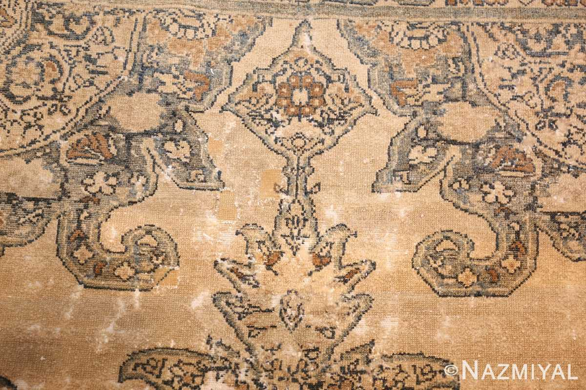 small tribal antique shabby chic persian malayer rug 50634 top Nazmiyal