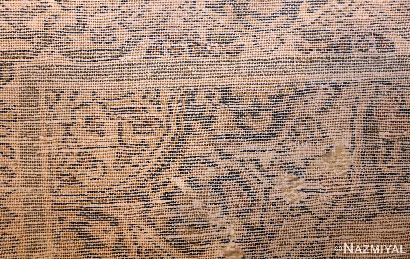small tribal antique shabby chic persian malayer rug 50634 weave Nazmiyal
