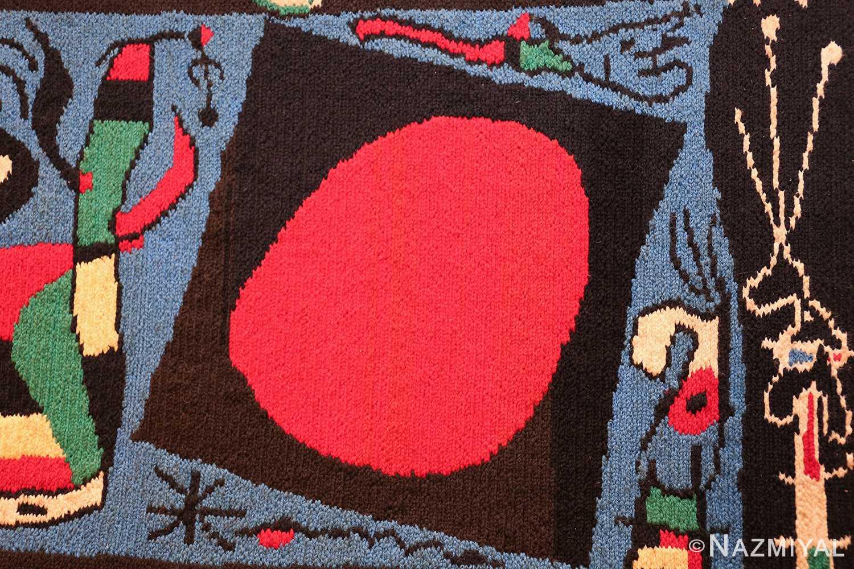 textile art tapestry by artist joan miro 48946 round Nazmiyal