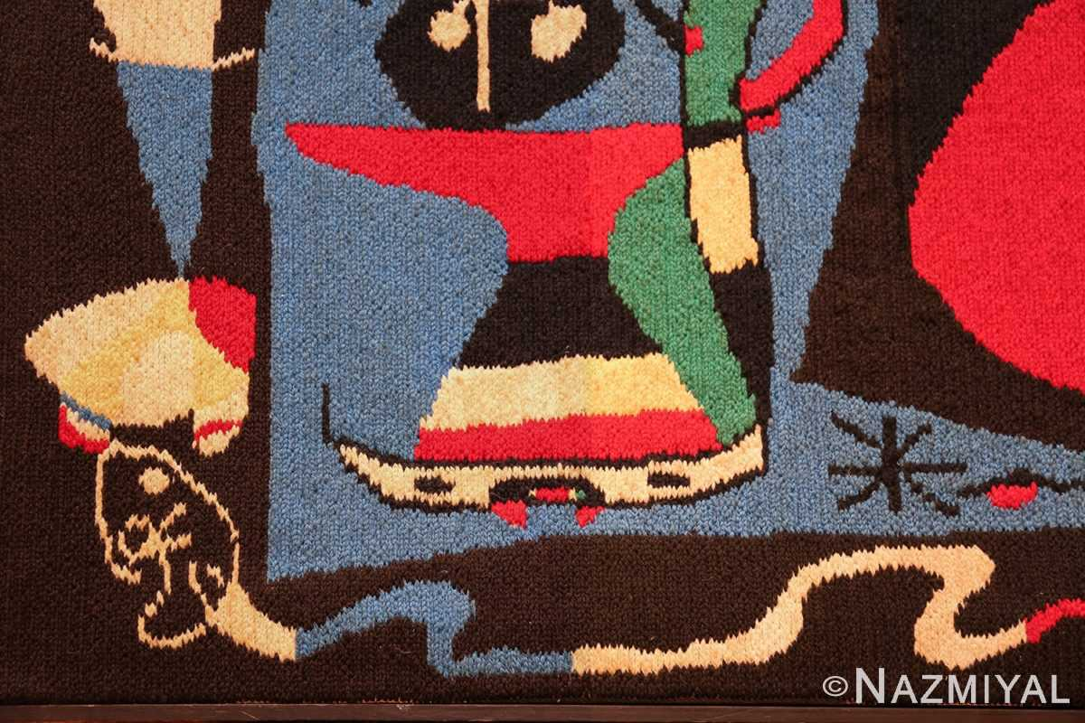 textile art tapestry by artist joan miro 48946 snake Nazmiyal