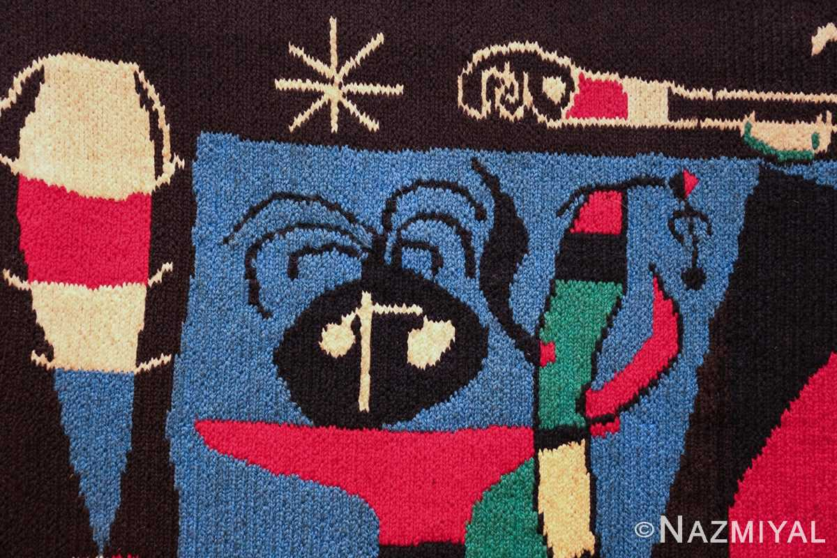 textile art tapestry by artist joan miro 48946 stick Nazmiyal