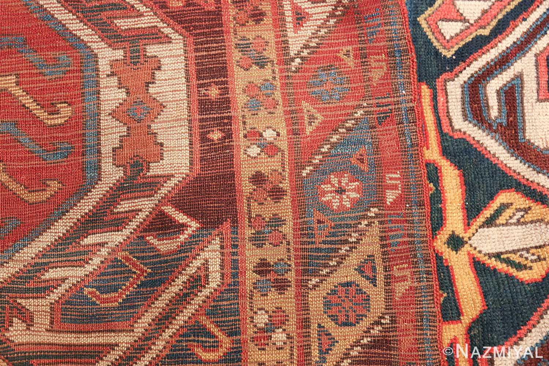 Tribal Antique Caucasian Lankoran Runner Rug 48929 Woven Knots Nazmiyal