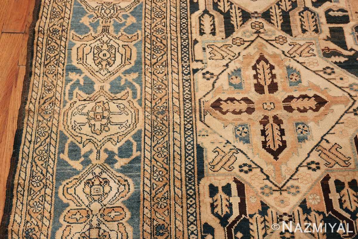 Tribal Antique Oversized Persian Bakhtirari Geometric Rug 48042 Border Design Nazmiyal