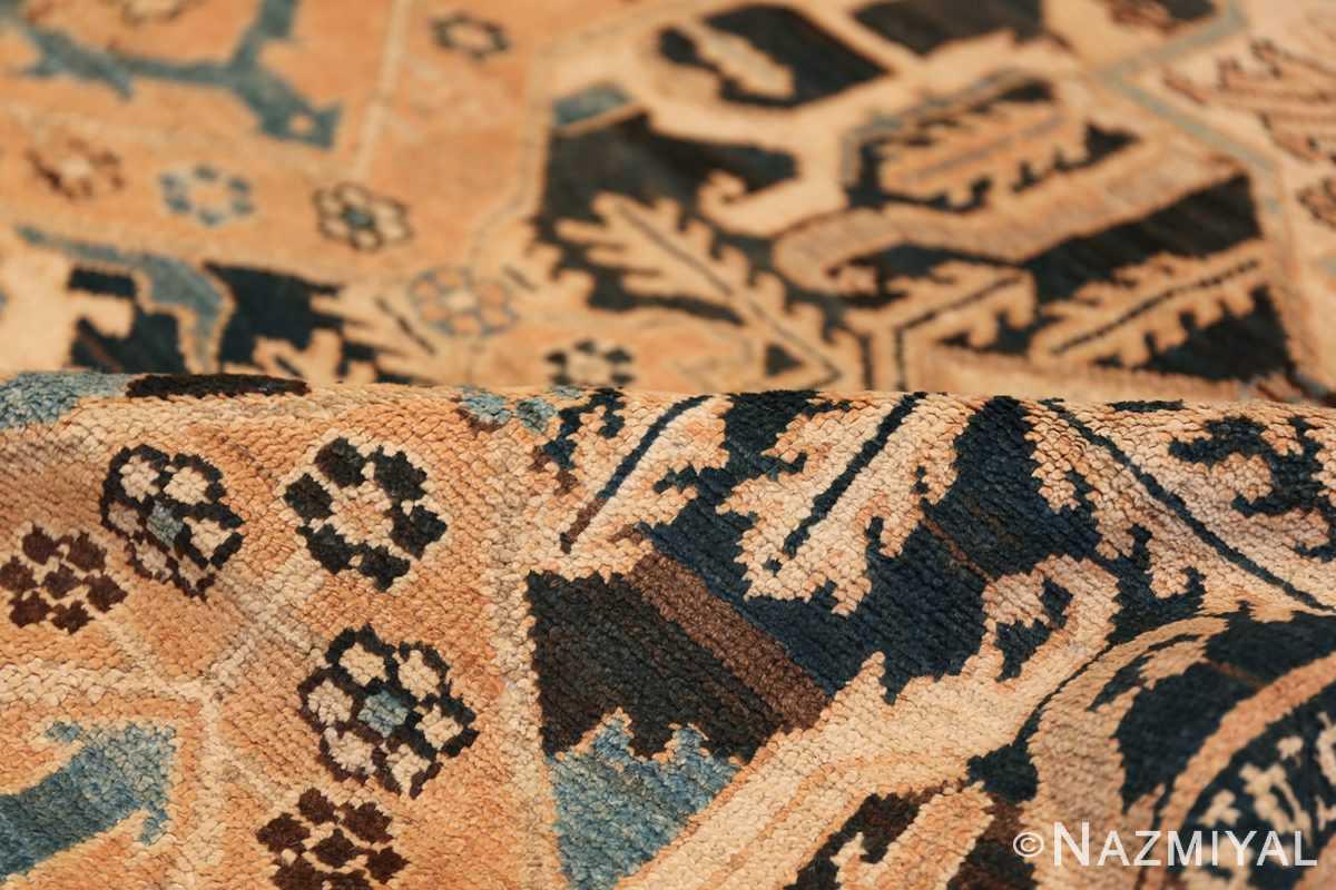 Tribal Antique Oversized Persian Bakhtirari Geometric Rug 48042 Floral Pile Nazmiyal