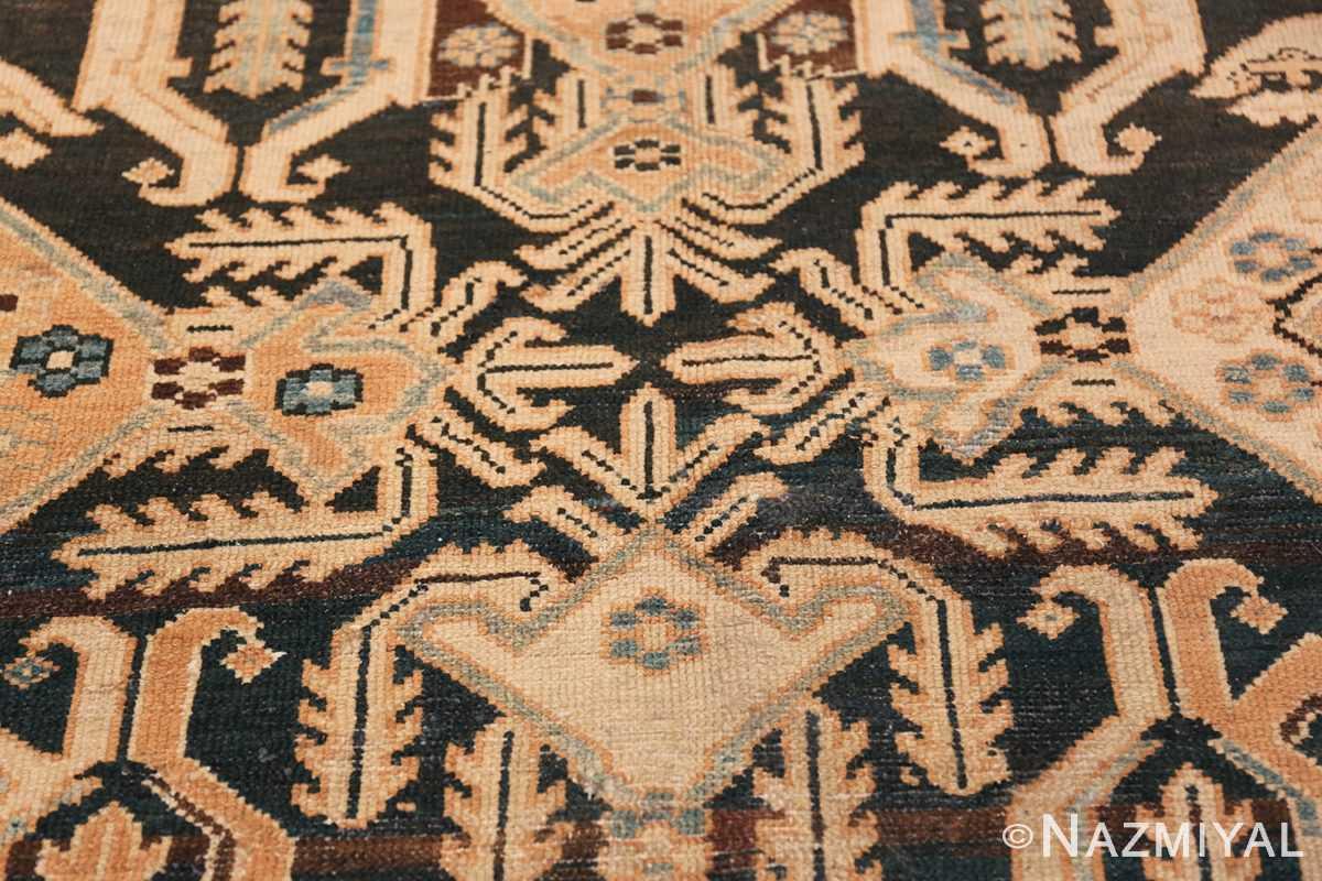 Tribal Antique Oversized Persian Bakhtirari Geometric Rug 48042 Inner Pattern Nazmiyal