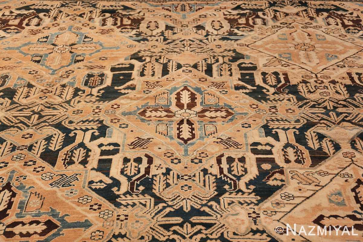 Tribal Antique Oversized Persian Bakhtirari Geometric Rug 48042 Middle Part Nazmiyal