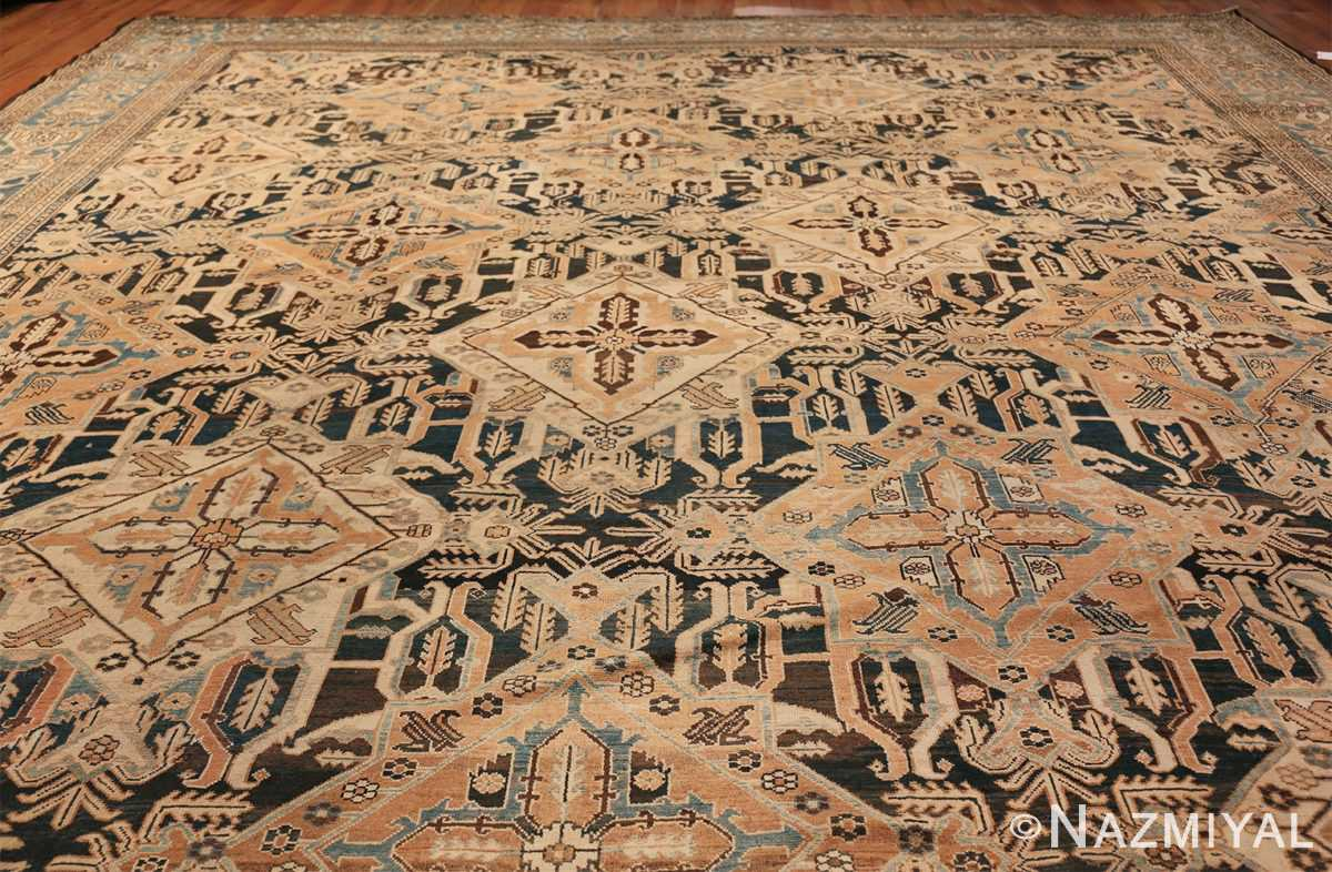 Tribal Antique Oversized Persian Bakhtirari Geometric Rug 48042 Whole Design Nazmiyal