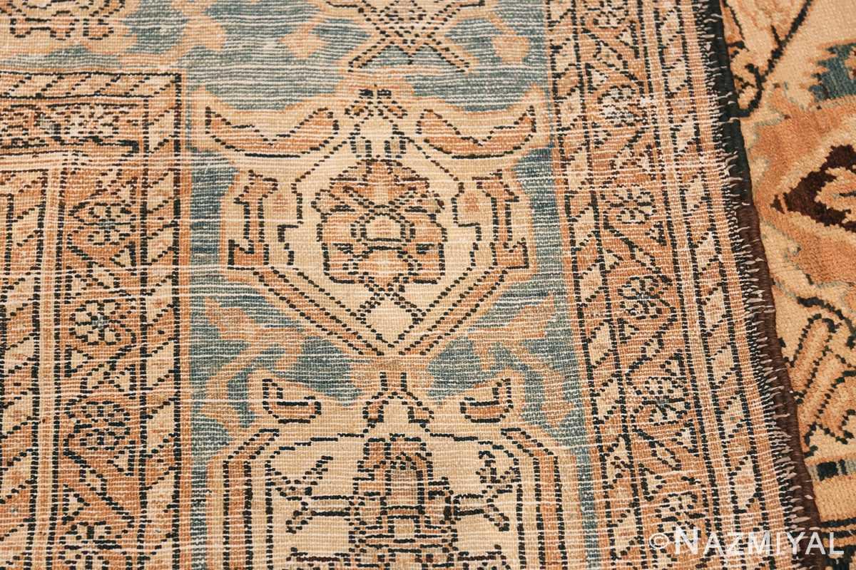 Tribal Antique Oversized Persian Bakhtirari Geometric Rug 48042 Woven Knots Nazmiyal