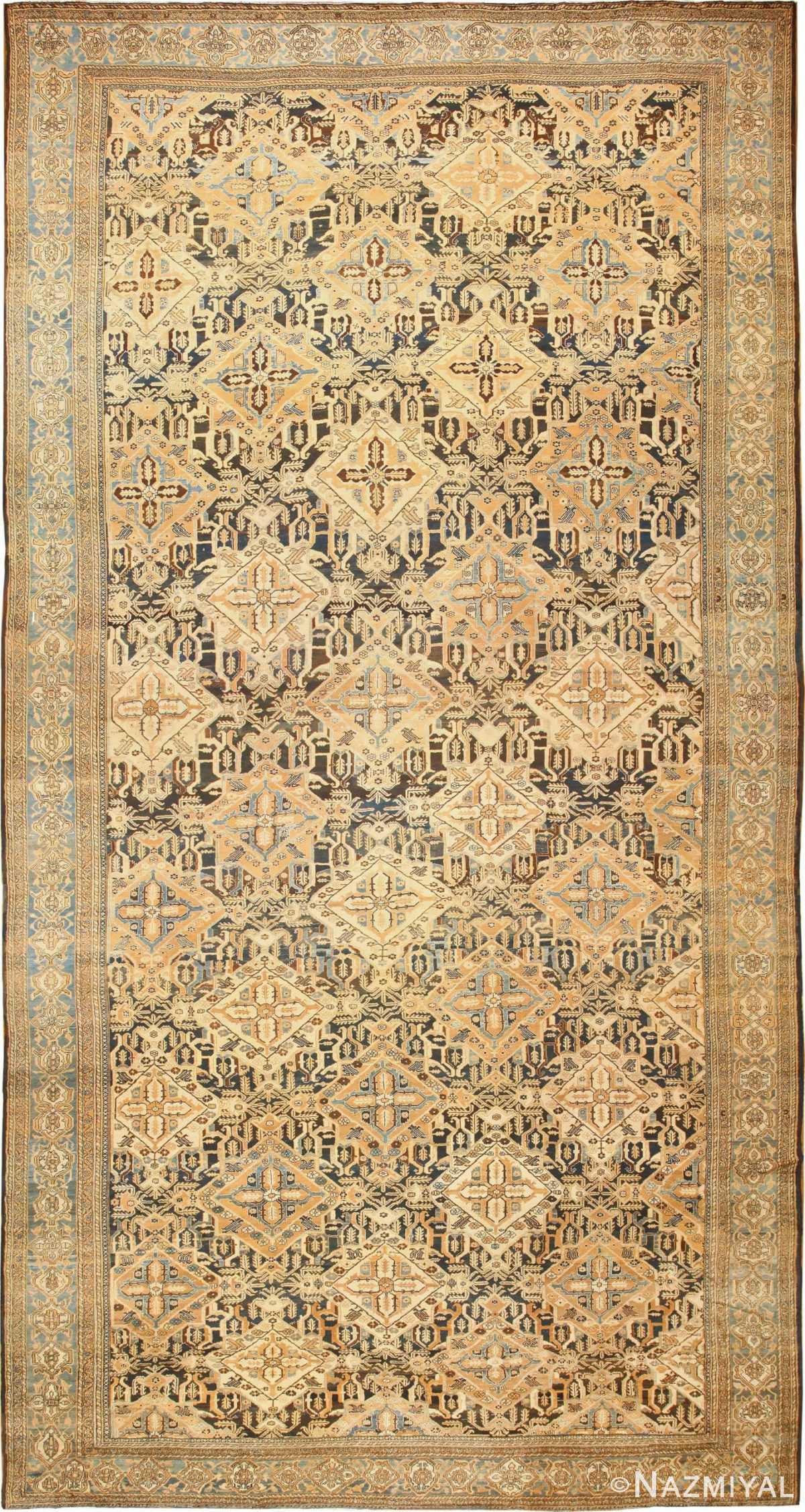 Tribal Antique Oversized Persian Bakhtirari Rug 48042 Nazmiyal