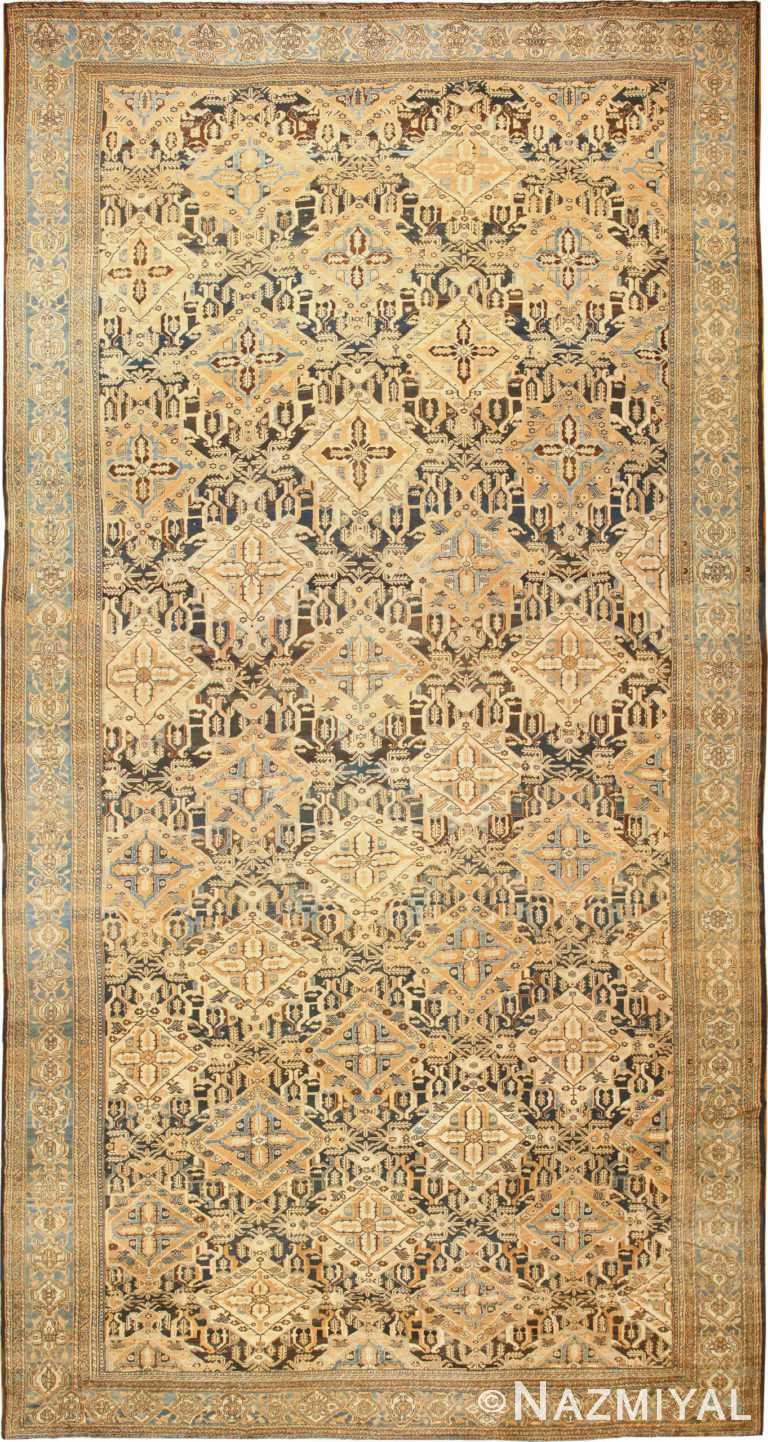 Tribal Antique Oversized Persian Bakhtirari Rug 48042 Nazmiyal