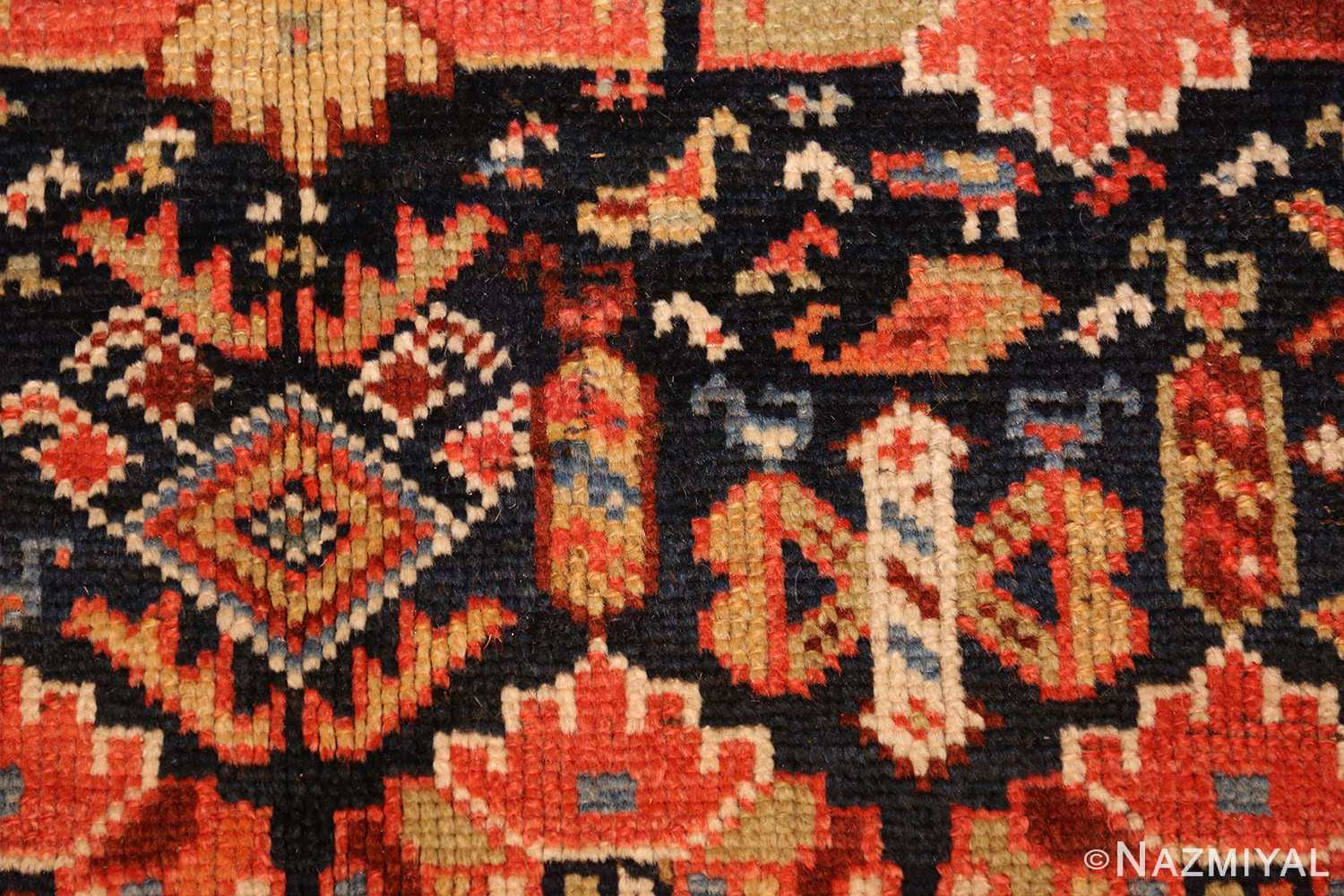 tribal antique qashqai persian gallery size rug 48881 butterfly Nazmiyal