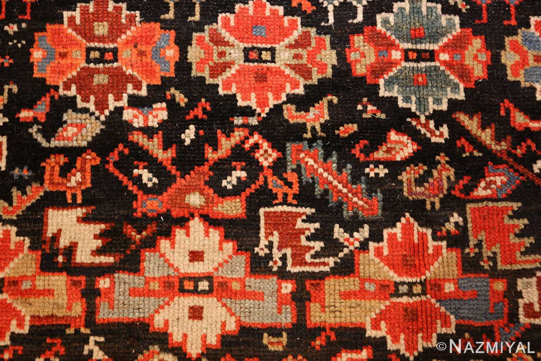 tribal antique qashqai persian gallery size rug 48881 flowers Nazmiyal
