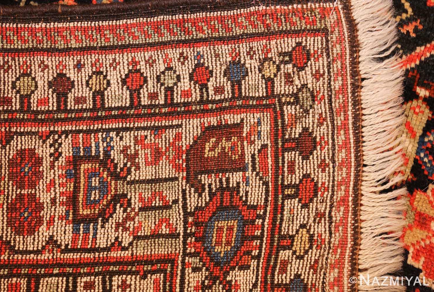 tribal antique qashqai persian gallery size rug 48881 weave Nazmiyal