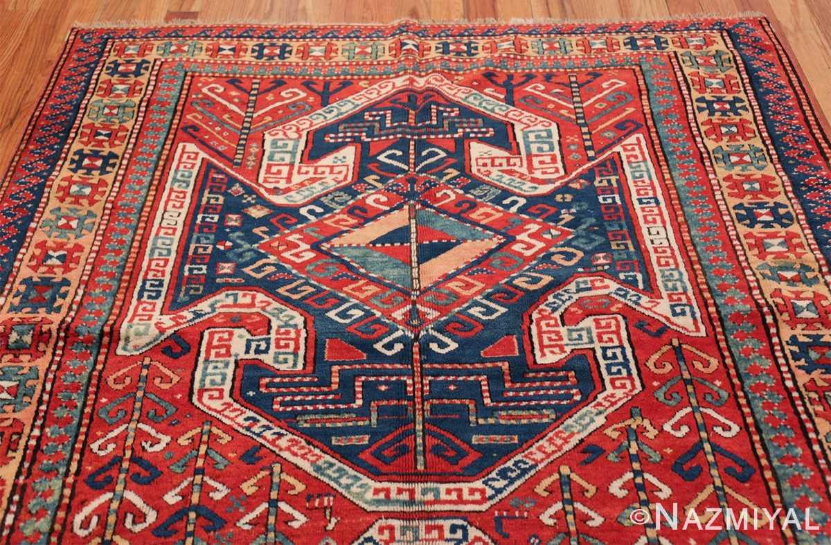 Tribal Gallery Size Runner Antique Caucasian Kazak Rug 48934 Top Design Nazmiyal