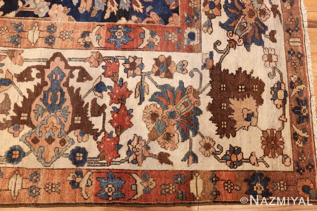 unusual and rare antique tribal persian malayer rug 48879 border Nazmiyal
