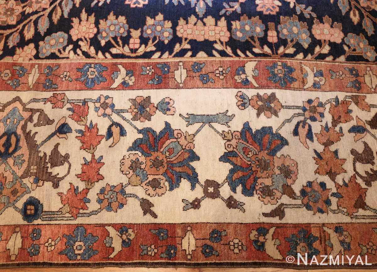 unusua and rare antique tribal persian malayer rug 48879 corner Nazmiyal