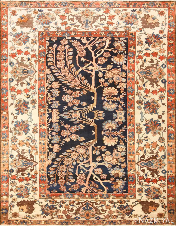 Unusual and Rare Antique Tribal Persian Malayer Rug 48879 Nazmiyal