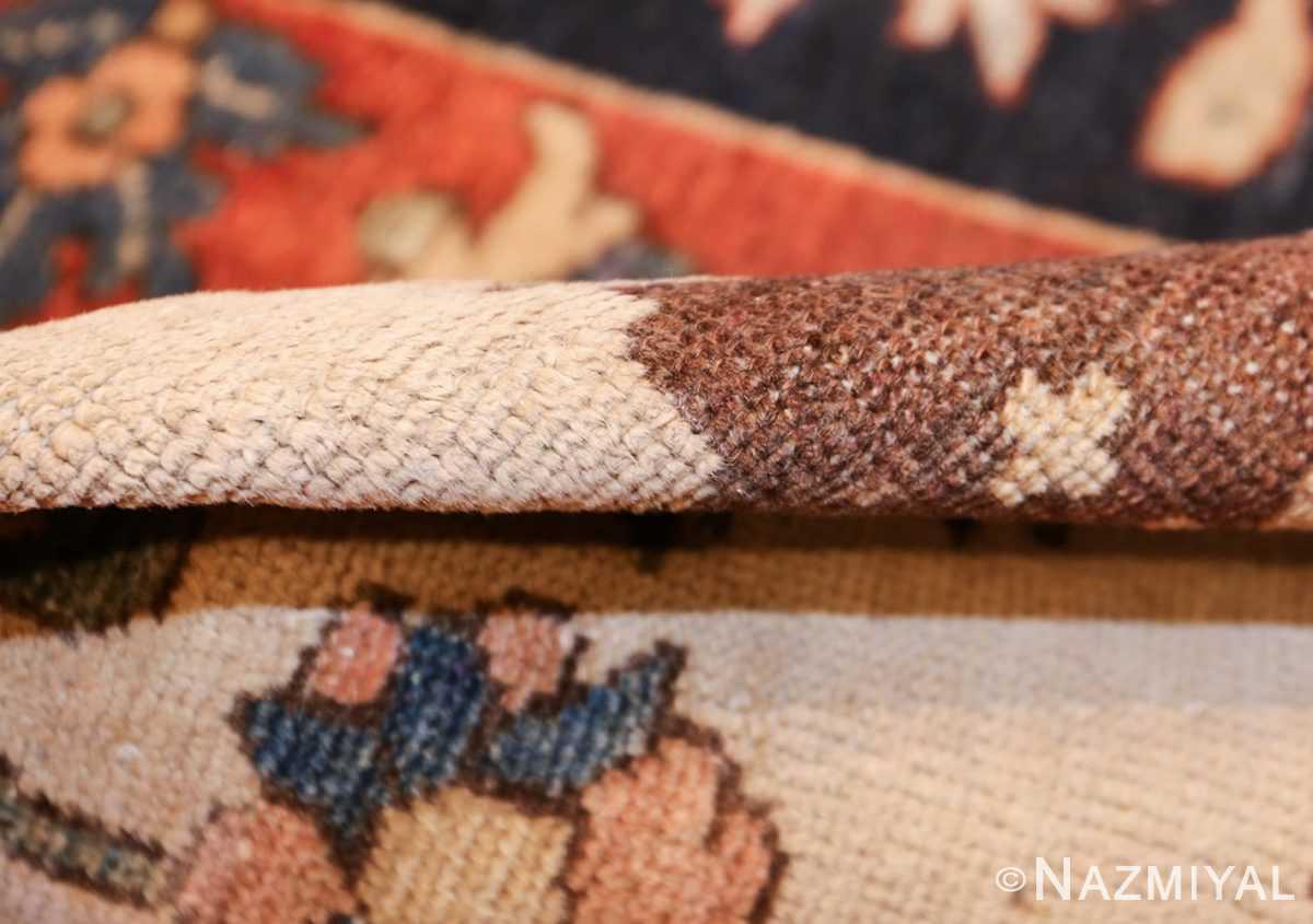 unusual and rare antique tribal persian malayer rug 48879 pile Nazmiyal