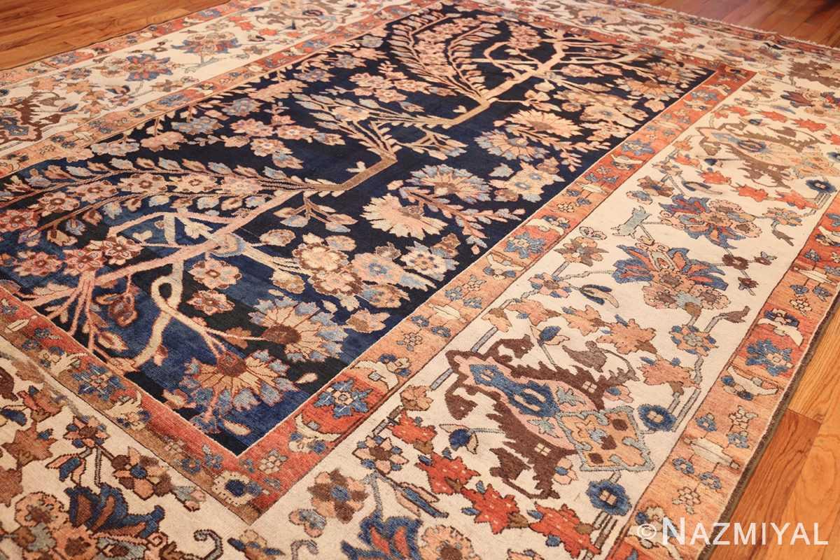 unusual and rare antique tribal persian malayer rug 48879 side Nazmiyal