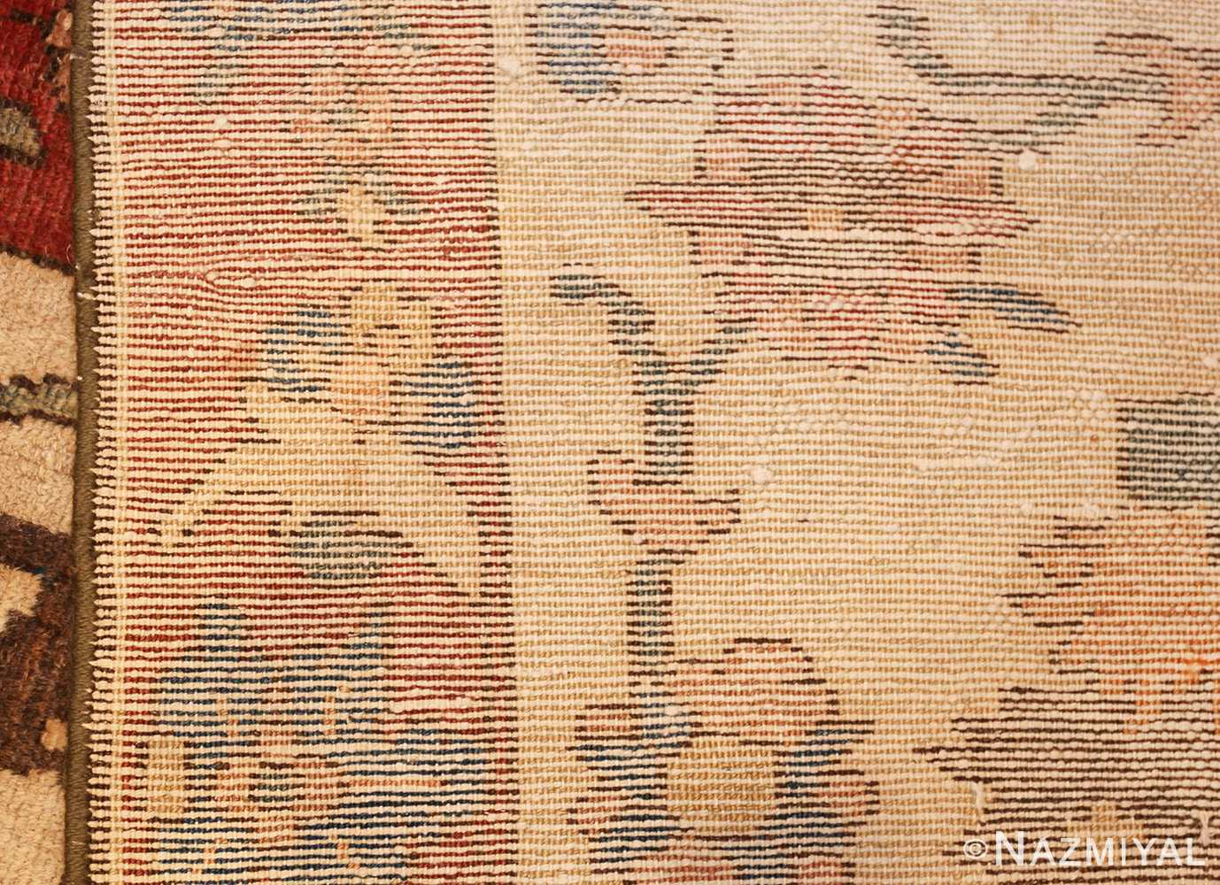 unusual and rare antique tribal persian malayer rug 48879 weave Nazmiyal