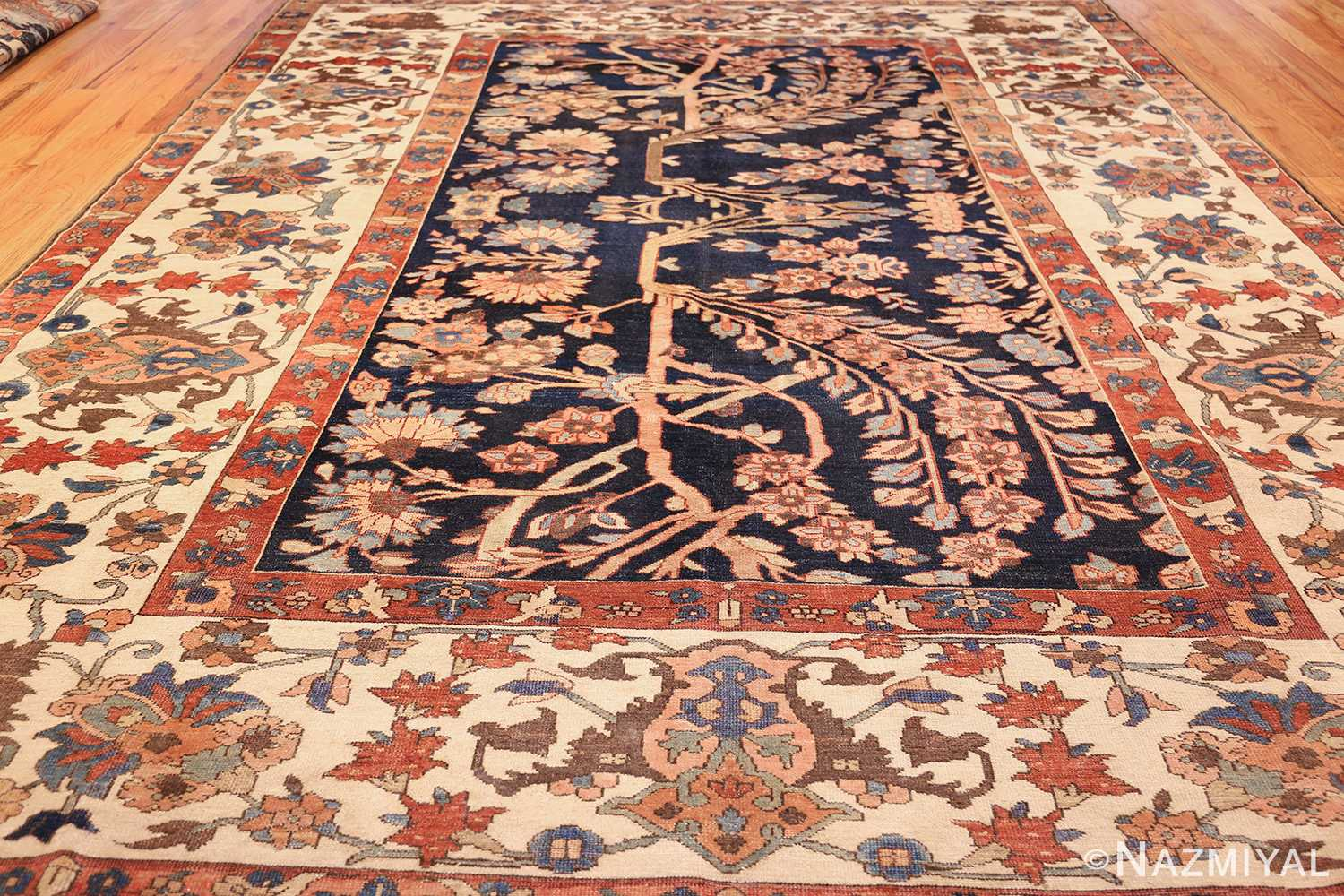 unusual and rare antique tribal persian malayer rug 48879 whole Nazmiyal