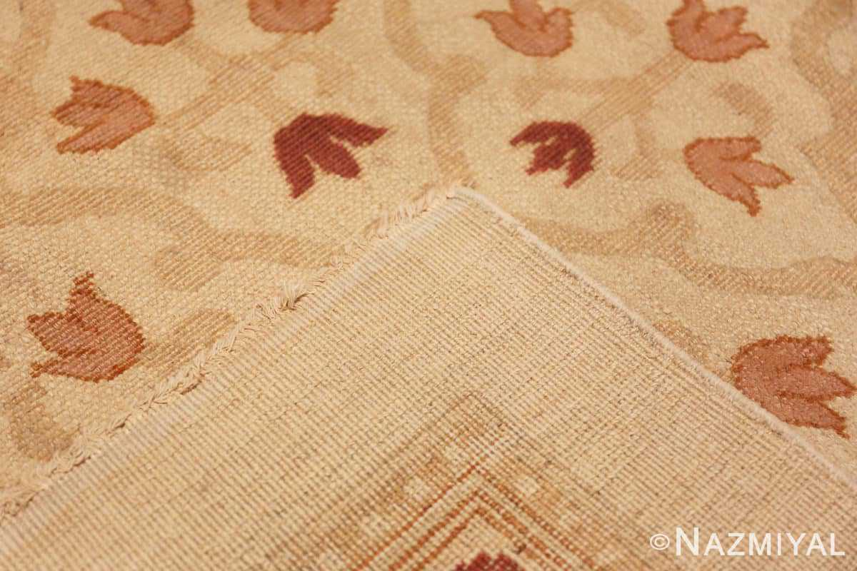 Weave Large cream background Antique Inian Amritsar 50658 by Nazmiyal