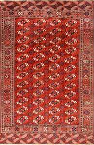 Antique Caucasian Turkoman Bokara Rug 50526 Nazmiyal